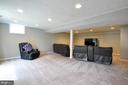 Spacious  and Open Basement - 9 BANKSTON CT, STAFFORD