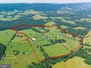 Approx property lines for Newstead Farm - 33542 NEWSTEAD LN, UPPERVILLE