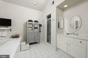 A 2nd vanity, walk-in shower &  soaking tub in MBA - 317 S SAINT ASAPH ST, ALEXANDRIA
