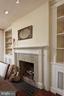 This wood burning fireplace with original mantel - 317 S SAINT ASAPH ST, ALEXANDRIA