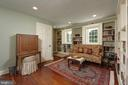 Bedroom 2 provides flexible space for an office - 317 S SAINT ASAPH ST, ALEXANDRIA