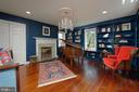 This 3rd bedroom includes two walls of built-ins - 317 S SAINT ASAPH ST, ALEXANDRIA