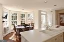 Bay window is a perfect spot for a breakfast nook - 317 S SAINT ASAPH ST, ALEXANDRIA