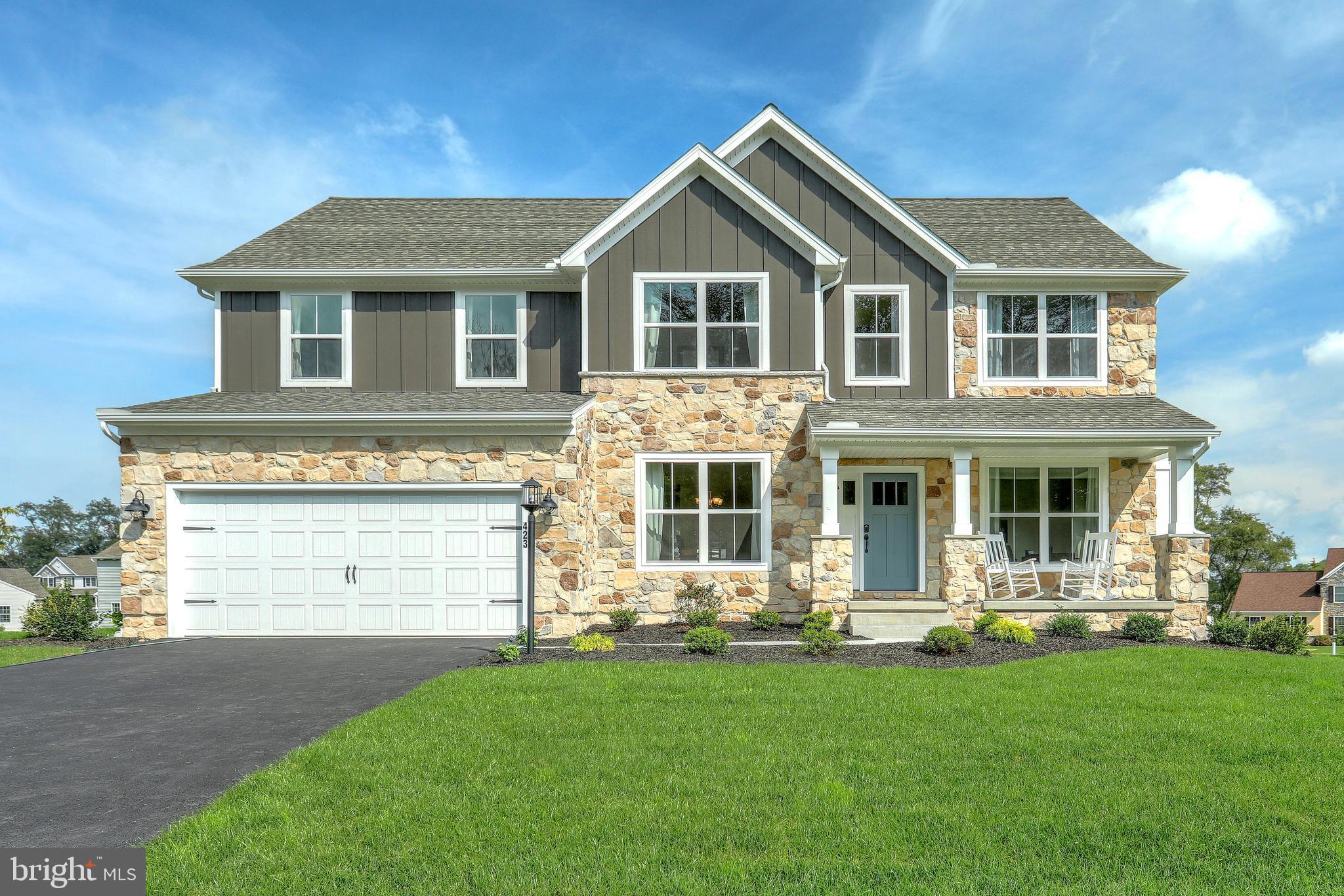 Photo similar to home - Logan Meadows model home.