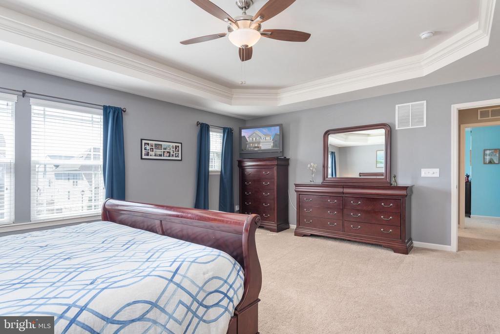 Master bedroom - 181 MILL RACE RD, STAFFORD