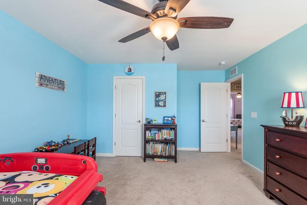 Bright and open fourth bedroom - 181 MILL RACE RD, STAFFORD