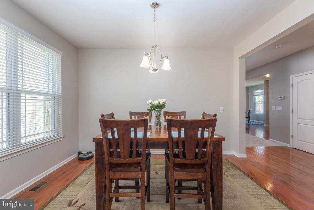 Formal dining area - 181 MILL RACE RD, STAFFORD