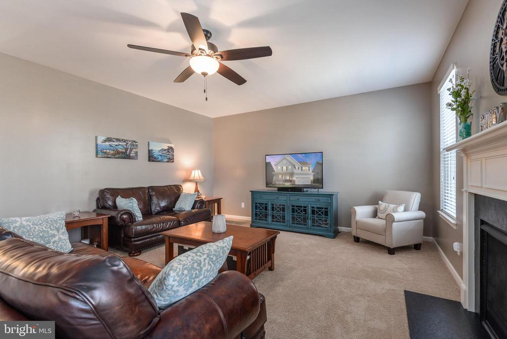 The family room - 181 MILL RACE RD, STAFFORD