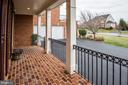Front Covered Balcony - 43230 PARKERS RIDGE DR, LEESBURG