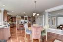 Breakfast Room/Kitchen - 43230 PARKERS RIDGE DR, LEESBURG