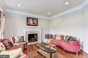 Living Room - 43230 PARKERS RIDGE DR, LEESBURG