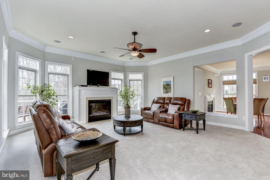 Family Room - 43230 PARKERS RIDGE DR, LEESBURG