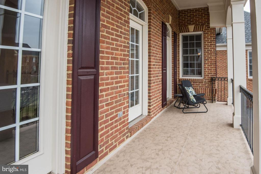 Private Balcony off Third Bedroom - 43230 PARKERS RIDGE DR, LEESBURG