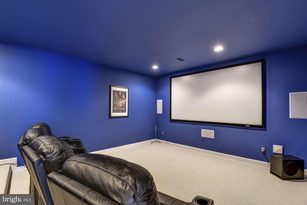 Theatre Room - 43230 PARKERS RIDGE DR, LEESBURG