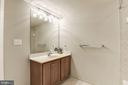 Lower Level Full Bathroom - 43230 PARKERS RIDGE DR, LEESBURG