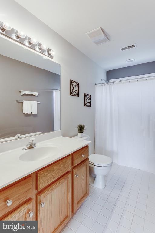 Bathroom #2  on upper level - 4112 FERRY LANDING RD, ALEXANDRIA