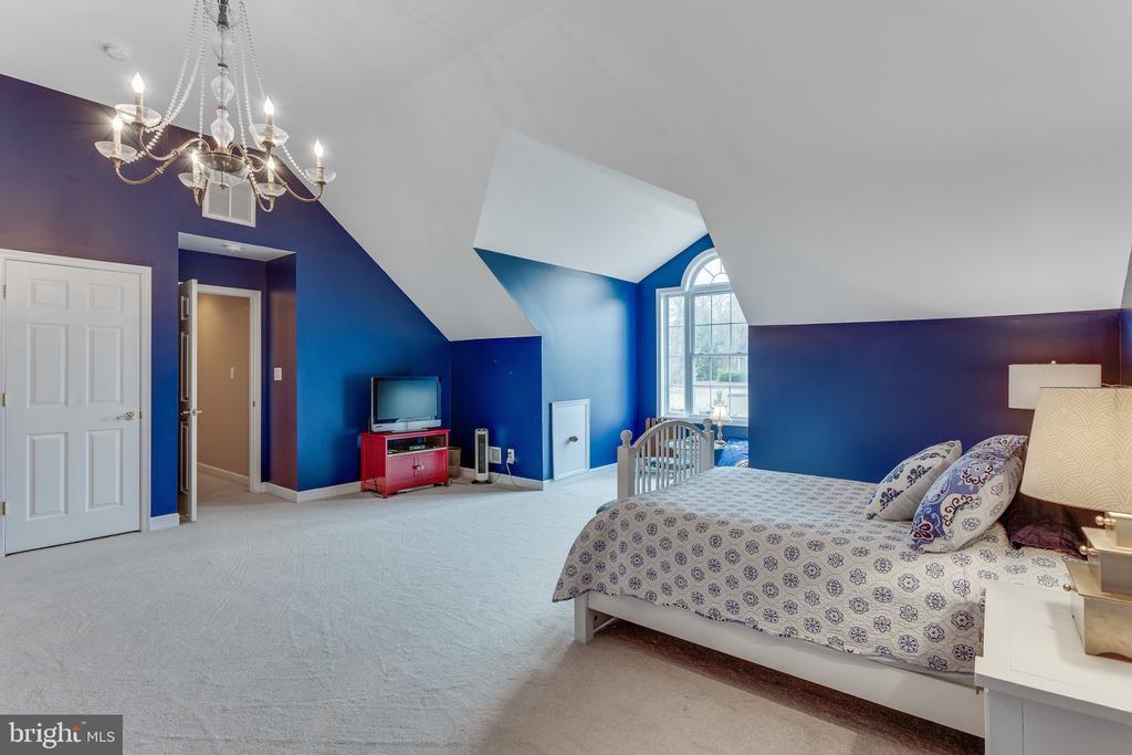 Chandelier in large bedroom #3 - 4112 FERRY LANDING RD, ALEXANDRIA