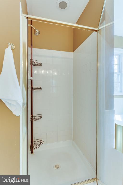 Glass shower enclosure - 4112 FERRY LANDING RD, ALEXANDRIA
