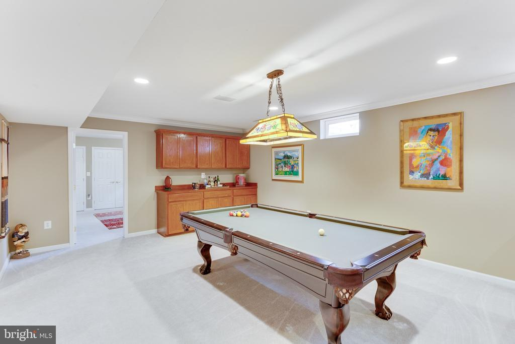 Pool table conveys with purchase - 4112 FERRY LANDING RD, ALEXANDRIA