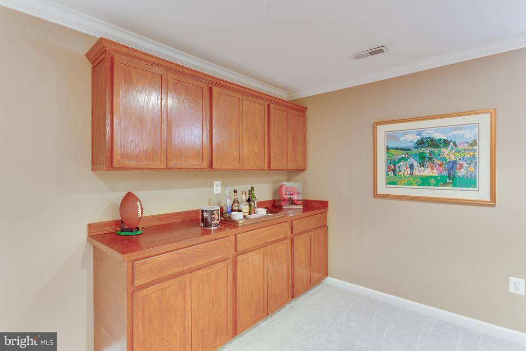Additional cabinetry for games, snacks on LL - 4112 FERRY LANDING RD, ALEXANDRIA