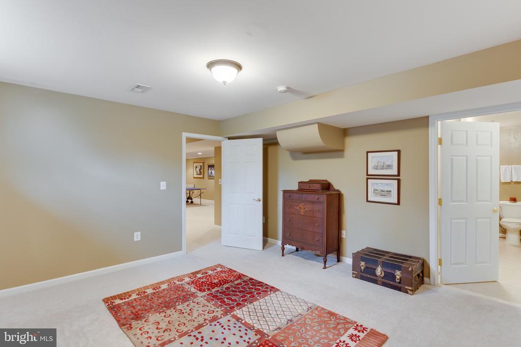 Bedroom on lower level - 4112 FERRY LANDING RD, ALEXANDRIA