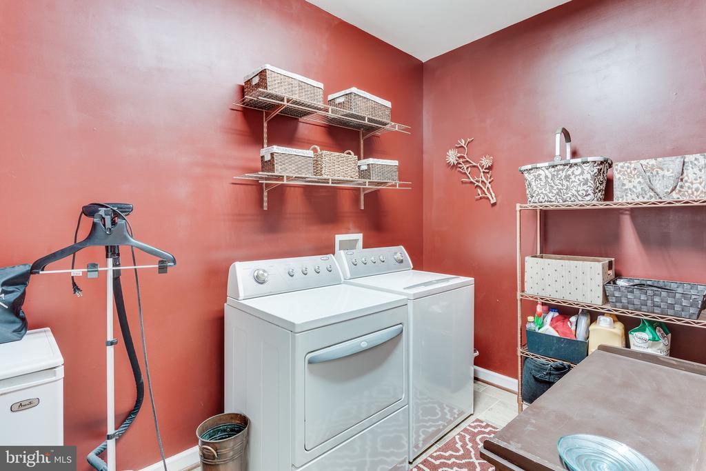 Laundry/storage room on main level - 4112 FERRY LANDING RD, ALEXANDRIA
