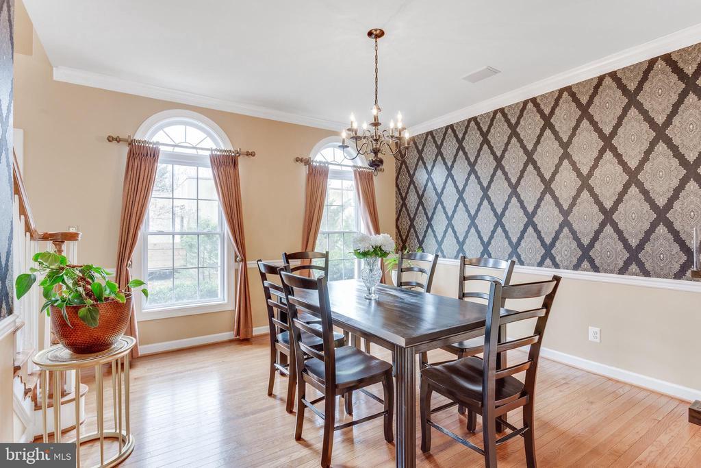 Formal dining room - 4112 FERRY LANDING RD, ALEXANDRIA