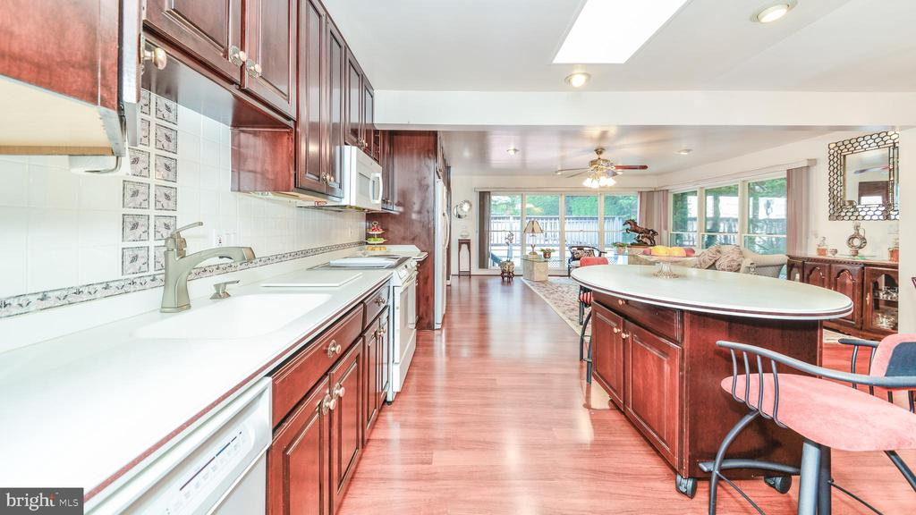 USEFUL UPDATES IN THE KITCHEN - 7138 SHREVE RD, FALLS CHURCH