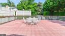 DECK ABOVE CARPORT W/ TALL WOOD FENCE FOR PRIVACY - 7138 SHREVE RD, FALLS CHURCH