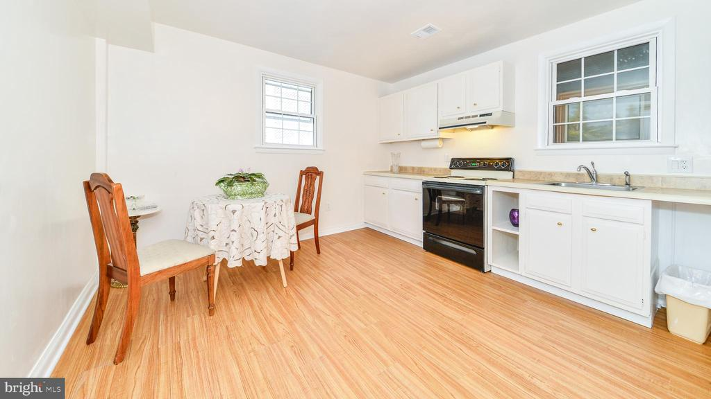 FULL KITCHENETTE IN BASEMENT - 7138 SHREVE RD, FALLS CHURCH