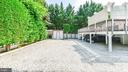 VERY PRIVATE  W/ CUSTOM LATTICE FENCE -BOTH SIDES - 7138 SHREVE RD, FALLS CHURCH