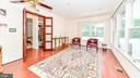 FRENCH DOORS  AND BRIGHT OPEN ROOM - 7138 SHREVE RD, FALLS CHURCH