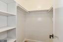 Master Walk-In Closet - 9215 SAINT MARKS PL, FAIRFAX
