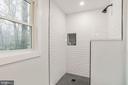 Lower Level Full Bath - 9215 SAINT MARKS PL, FAIRFAX