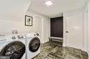 Laundry Room/Mudroom Adjacent to 2 Car Garage - 9215 SAINT MARKS PL, FAIRFAX