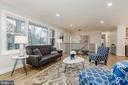Living Room - 9215 SAINT MARKS PL, FAIRFAX