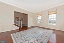 Incredible 10' ceilings throughout main level. - 6902 SOUTHRIDGE PL, MIDDLETOWN