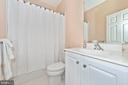 Full private bath attached to second bedroom. - 6902 SOUTHRIDGE PL, MIDDLETOWN