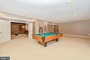 Rec room with access into custom media room. - 6902 SOUTHRIDGE PL, MIDDLETOWN