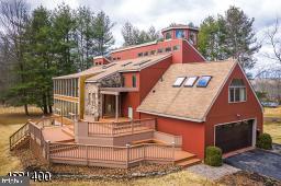 Single Family Homes per Vendita alle ore Stockton, New Jersey 08559 Stati Uniti