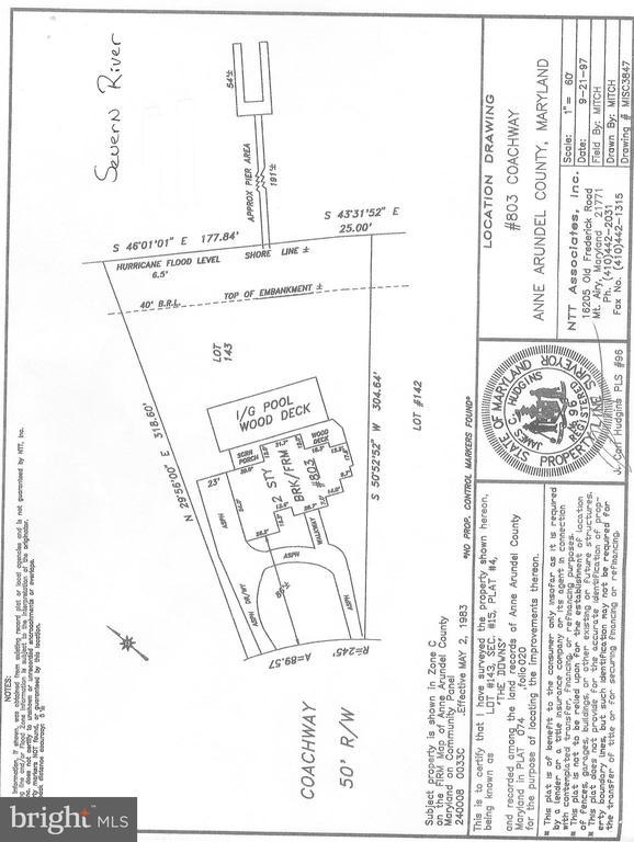 Plat - 803 COACHWAY, ANNAPOLIS
