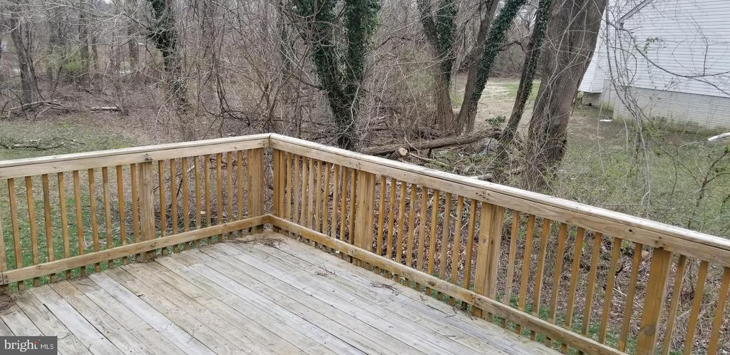 Deck - 6115 MODUPEOLA WAY, CAPITOL HEIGHTS