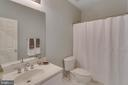 Full bath in lower level - 40475 SOUSA PL, ALDIE