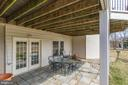 Step out of rec rm to covered stone patio - 40475 SOUSA PL, ALDIE