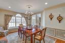 Entertainer's dream -- embassy size dining room - 40475 SOUSA PL, ALDIE