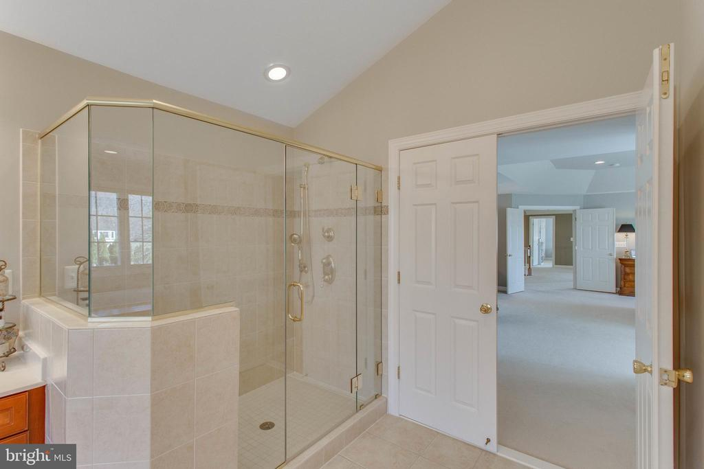 Ample shower - bench, hand held and shower head - 40475 SOUSA PL, ALDIE
