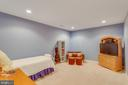 Large guest space or playroom w/recessed lights - 40475 SOUSA PL, ALDIE