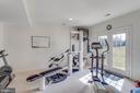 Exercise rm easily converts to 5th BR - add closet - 40475 SOUSA PL, ALDIE
