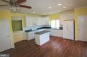 Kitchen with Upgraded Cabinets - 3 BLUEFIELD LN, FREDERICKSBURG