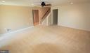 Basement Rec Room - 3 BLUEFIELD LN, FREDERICKSBURG